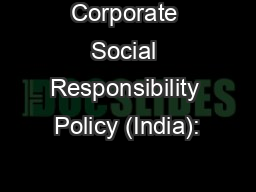 How to write a corporate social responsibility policy