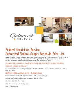 Federal Acquisition Service PowerPoint PPT Presentation