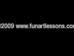 ©2009 www.funartlessons.com
