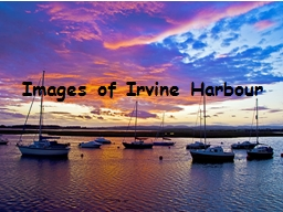 Images of Irvine Harbour