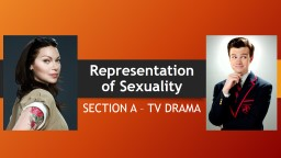 Representation of Sexuality