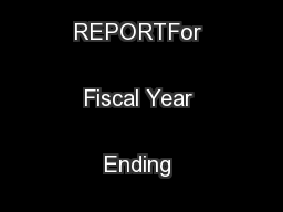 2013 ABET ANNUAL REPORTFor Fiscal Year Ending September 30, 2013 ...