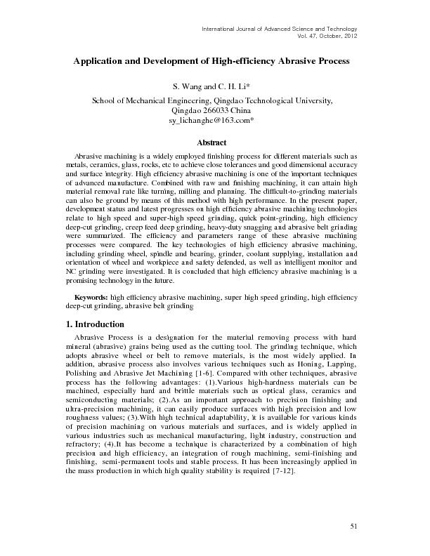 International Journal of Advanced Science and Technology