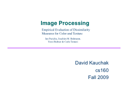 Image Processing PowerPoint PPT Presentation