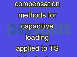 November  Rev   AN Application note Operational amplifier stabil ity compensation methods for capacitive loading applied to TS Introduction Who has never experienced oscillations issues when using an PDF document - DocSlides