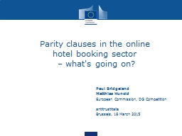 Parity clauses in the online