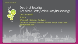 Death of Security: