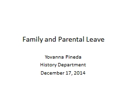 Family and Parental Leave PowerPoint PPT Presentation