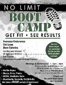 NO LIMIT BOOT CAMP