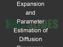 The Coloured Noise Expansion and Parameter Estimation of Diffusion Processes Simon M