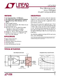 LTC fa PIN CONFIGURATION ABSOLUTE MAXIMUM RATINGS Supply Voltage V to GND PDF document - DocSlides