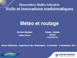 Rencontres Maths Industrie