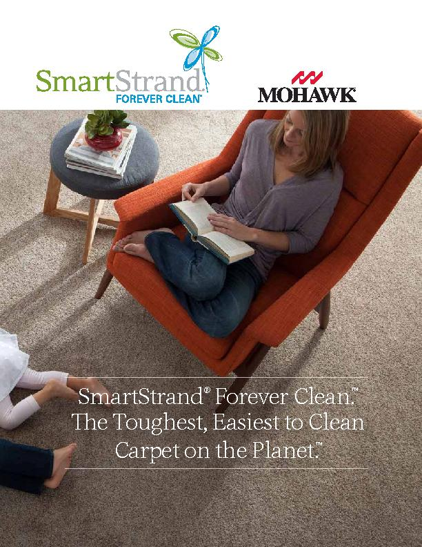 SmartStrand Forever Clean.e Toughest, Easiest to Clean Carpet on the