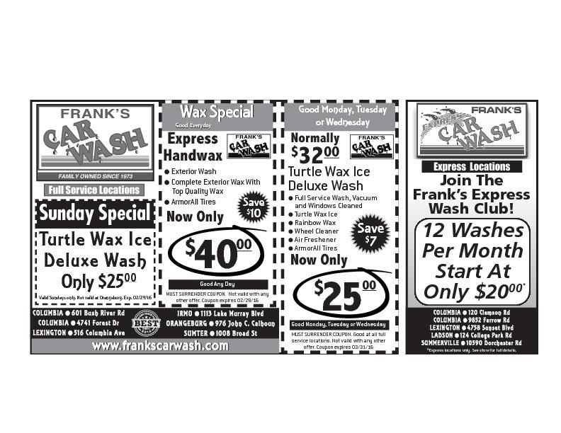 MUST SURRENDER COUPON. Good at all fullservice locations. Not valid wi