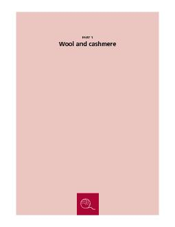 PART 1: Wool and cashmere