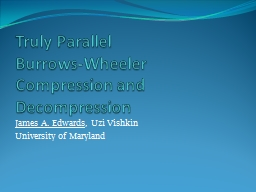 Truly Parallel PowerPoint PPT Presentation