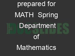 Continued Fractions and the Euclidean Algorithm Lecture notes prepared for MATH  Spring  Department of Mathematics and Statistics University at Albany William F PDF document - DocSlides