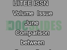 International Journal of Innovative Technology and Exploring Engineering IJITEE ISSN   Volume  Issue  June   Comparison between Conventional PID and Fuzzy Logic Controller for Liquid Flow Control Per PDF document - DocSlides