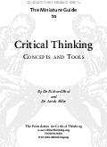 The Miniature Guide to The Foundation for Critical Thinking www PDF document - DocSlides