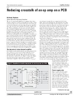 Analog Applications Journal November  Analog and MixedSignal Products exas Instruments Incorporated Amplifiers Op Amps amplifier PDF document - DocSlides