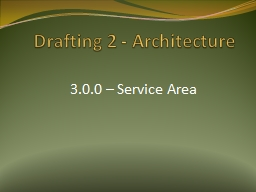 Drafting 2 - Architecture