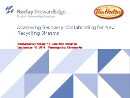 Advancing Recovery: Collaborating for New Recycling