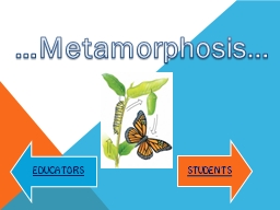 …Metamorphosis…