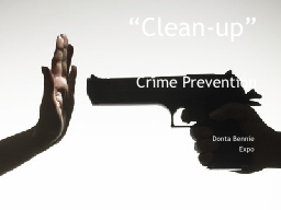 """""""Clean-up"""""""