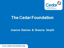 www.cedar-foundation.org