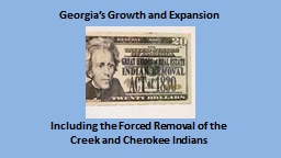 Georgia's Growth and Expansion