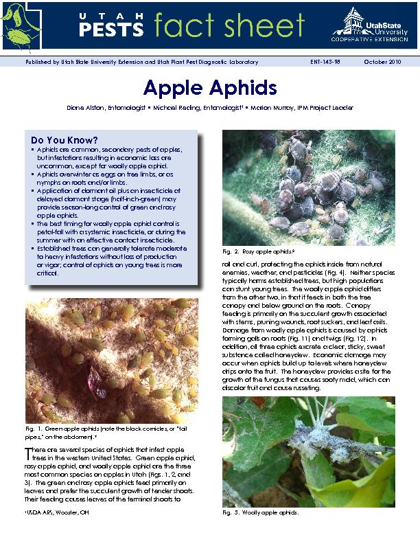 Published by Utah State University Extension and Utah Plant Pest Diagn