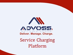 Service Charging