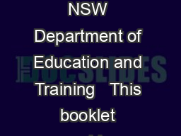 Activities for differentiating the curriculum  State of New South Wales through the NSW Department of Education and Training   This booklet provides templates that can be used to develop ideas for mo