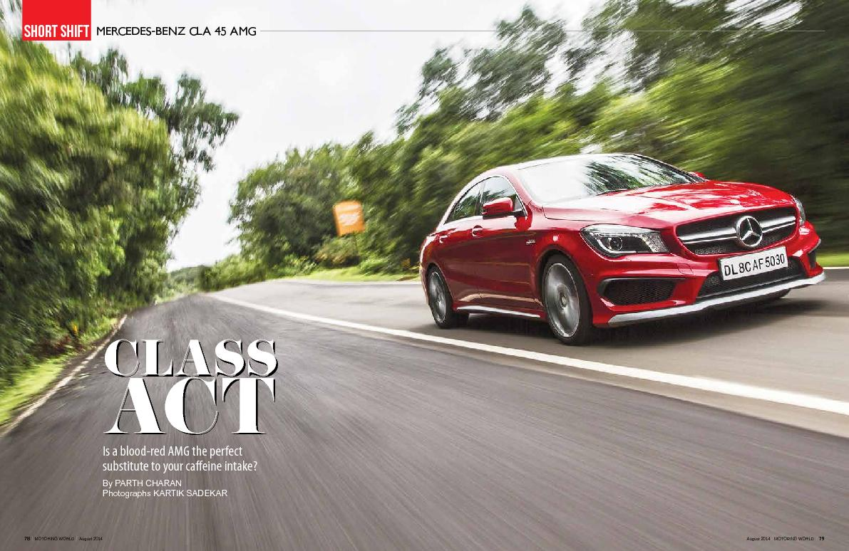 Is a blood-red AMG the perfect substitute to your caeine intake? By P