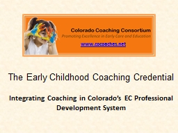 The Early Childhood Coaching
