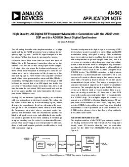 AN APPLICATION NOTE One Technology Way  P