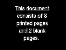 This document consists of 8 printed pages and 2 blank pages.