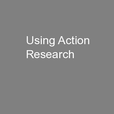 Using Action Research