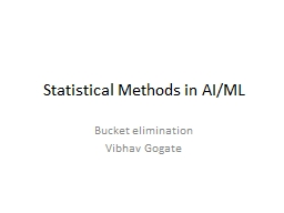 Statistical Methods in AI/ML PowerPoint PPT Presentation