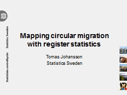 Mapping circular migration with register statistics