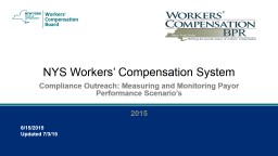 NYS Workers' Compensation System