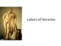 Labors of Heracles