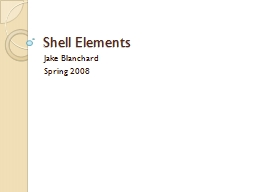 Shell Elements