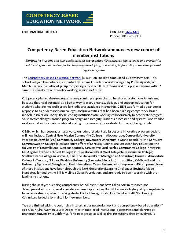 Based Education Network announces
