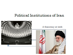 Political Institutions of Iran PowerPoint Presentation, PPT - DocSlides