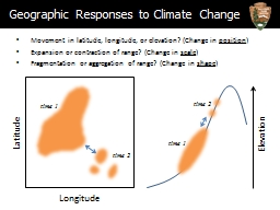 Movement in latitude, longitude, or elevation? (Change in PowerPoint Presentation, PPT - DocSlides