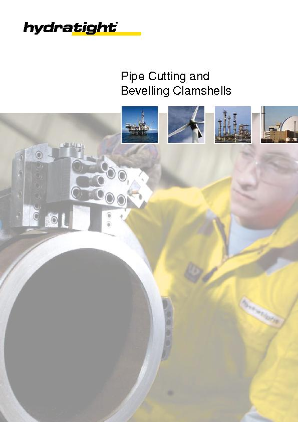 Pipe Cutting andBevelling Clamshells PDF document - DocSlides