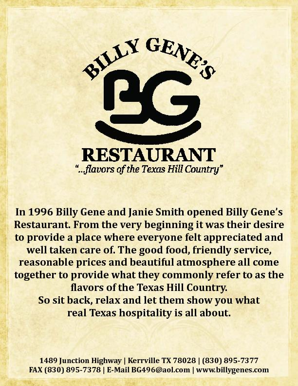In 1996 Billy Gene and Janie Smith opened Billy Gene PDF document - DocSlides