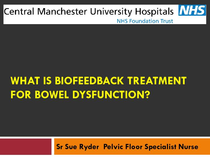 WHAT IS BIOFEEDBACK TREATMENT PDF document - DocSlides
