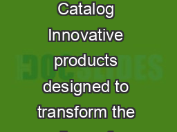 Environmental Control Units  Catalog Innovative products designed to transform the lives of persons with disabilities PDF document - DocSlides